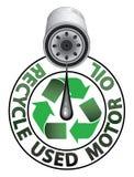 Ανακυκλώστε τα χρησιμοποιημένα ορυκτέλαια απεικόνιση αποθεμάτων