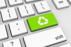 ανακυκλώστε την τεχνολ&om Στοκ φωτογραφία με δικαίωμα ελεύθερης χρήσης