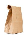 Ανακυκλώστε την τσάντα καφετιού εγγράφου Στοκ φωτογραφίες με δικαίωμα ελεύθερης χρήσης