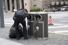 Ανακυκλώστε τη συλλογή αγαθών Στοκ εικόνες με δικαίωμα ελεύθερης χρήσης