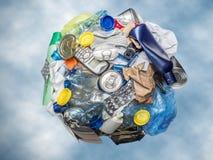 ανακυκλώστε τη σφαίρα Στοκ Φωτογραφίες