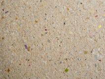 Ανακυκλώστε το έγγραφο χαρτονιού/το καφετί χρωματισμένο υπόβαθρο Στοκ Εικόνες