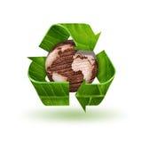 ανακυκλώστε το σύμβολο Στοκ εικόνες με δικαίωμα ελεύθερης χρήσης