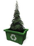 ανακύκλωσης δέντρο έλατ&omicron ελεύθερη απεικόνιση δικαιώματος