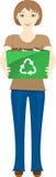 ανακύκλωσης νεολαίες &gamm Στοκ φωτογραφία με δικαίωμα ελεύθερης χρήσης