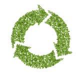 ανακύκλωσης σύμβολο χλό&e απεικόνιση αποθεμάτων