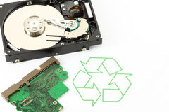 ανακύκλωσης τεχνολογί&alp Στοκ φωτογραφία με δικαίωμα ελεύθερης χρήσης