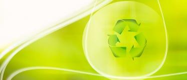 ανακύκλωση ανασκόπησης Στοκ Φωτογραφία