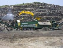 ανακύκλωση απορρίψεων Στοκ Εικόνες