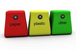 ανακύκλωση εμπορευματ&omi Στοκ εικόνες με δικαίωμα ελεύθερης χρήσης