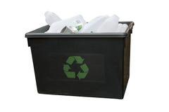 ανακύκλωση κιβωτίων Στοκ Εικόνα