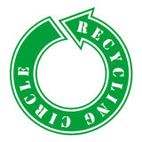 ανακύκλωση κύκλων Στοκ εικόνα με δικαίωμα ελεύθερης χρήσης