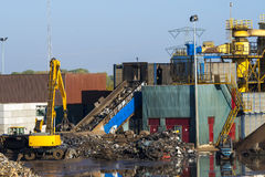 Ανακύκλωση μετάλλων Στοκ εικόνα με δικαίωμα ελεύθερης χρήσης
