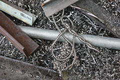 ανακύκλωση μετάλλων Στοκ Εικόνες