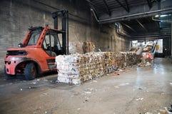 ανακύκλωση πολτού χαρτι&omi Στοκ Εικόνα
