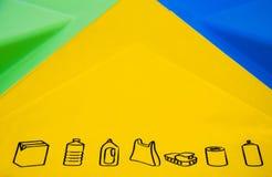 ανακύκλωση που χωρίζετα& Στοκ φωτογραφία με δικαίωμα ελεύθερης χρήσης