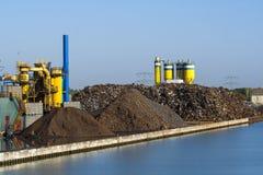 Ανακύκλωση χάλυβα Στοκ φωτογραφία με δικαίωμα ελεύθερης χρήσης