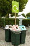 ανακύκλωση δοχείων Στοκ Φωτογραφίες