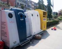 ανακύκλωσης ανακύκλωση απεικόνισης δοχείων Στοκ Εικόνες