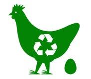 Ανακύκλωσης διάνυσμα Han Απεικόνιση αποθεμάτων