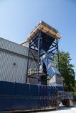 Ανακύκλωση της μηχανής έξω από την κατασκευή Στοκ Εικόνες