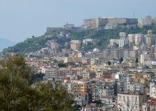 Αναλαμπή της Νάπολης από Capodimonte Στοκ εικόνα με δικαίωμα ελεύθερης χρήσης