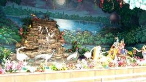 Αναλαμπή του Λόρδου Krishna σε Prem Mandir Vrindavan στοκ εικόνες