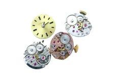 αναλογικό ρολόι μηχανισμώ στοκ φωτογραφία