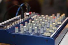 Αναμίκτης του DJ στο κόμμα Στοκ Εικόνες