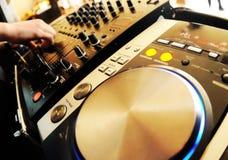 αναμίκτης του DJ Στοκ φωτογραφίες με δικαίωμα ελεύθερης χρήσης