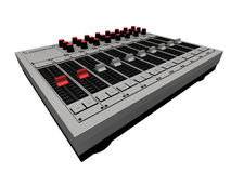 αναμίκτης του DJ διανυσματική απεικόνιση