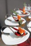 αναμμένος ήλιος πρόχειρων φαγητών θαλασσινών Στοκ Φωτογραφίες