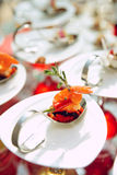 αναμμένος ήλιος πρόχειρων φαγητών θαλασσινών Στοκ Εικόνα