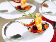 αναμμένος ήλιος πρόχειρων φαγητών θαλασσινών Στοκ εικόνες με δικαίωμα ελεύθερης χρήσης