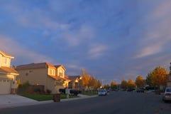 αναμμένος σπίτια ήλιος βρα στοκ φωτογραφία με δικαίωμα ελεύθερης χρήσης