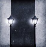 αναμμένο χαρτόνι κείμενό σα&sigm Στοκ Εικόνες