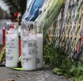 Αναμνηστικά κεριά Στοκ Εικόνα