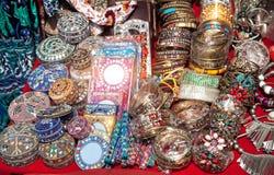 Αναμνηστικά στην αγορά Goa Στοκ Εικόνα