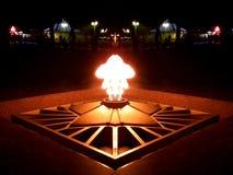 Αναμνηστική αιώνια φλόγα στοκ εικόνες