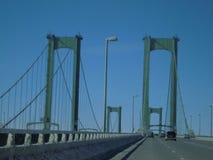Αναμνηστική γέφυρα του Ντελαγουέρ στοκ φωτογραφία