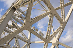 Αναμνηστική γέφυρα του Clark στοκ εικόνες