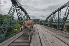 Αναμνηστική γέφυρα Pai Ταϊλάνδη Στοκ φωτογραφία με δικαίωμα ελεύθερης χρήσης