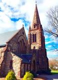 Αναμνηστική εκκλησία του ST Barnabas, Falmouth, Μασαχουσέτη, Ηνωμένες Πολιτείες Στοκ εικόνα με δικαίωμα ελεύθερης χρήσης