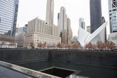 9/11 αναμνηστική επισκόπηση Στοκ φωτογραφία με δικαίωμα ελεύθερης χρήσης