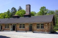 Αναμνηστική περιοχή στρατοπέδων συγκέντρωσης Dachau Στοκ φωτογραφίες με δικαίωμα ελεύθερης χρήσης
