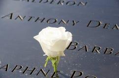 9/11 αναμνηστική πόλη της Νέας Υόρκης Στοκ Φωτογραφία