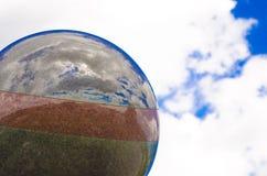 Αναμνηστική σφαίρα κινηματογραφήσεων σε πρώτο πλάνο Brookfield Dutton Στοκ Φωτογραφίες