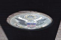 Αναμνηστική σφραγίδα μνημείων παλαιμάχων ` s στον ύμνο, Αριζόνα στοκ φωτογραφίες