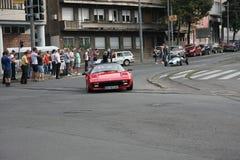 Αναμνηστικός αγώνας αυτοκινήτων Στοκ Εικόνες