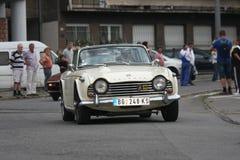 Αναμνηστικός αγώνας αυτοκινήτων Στοκ Εικόνα